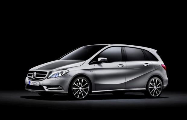 Neue Mercedes B-Klasse rollt an