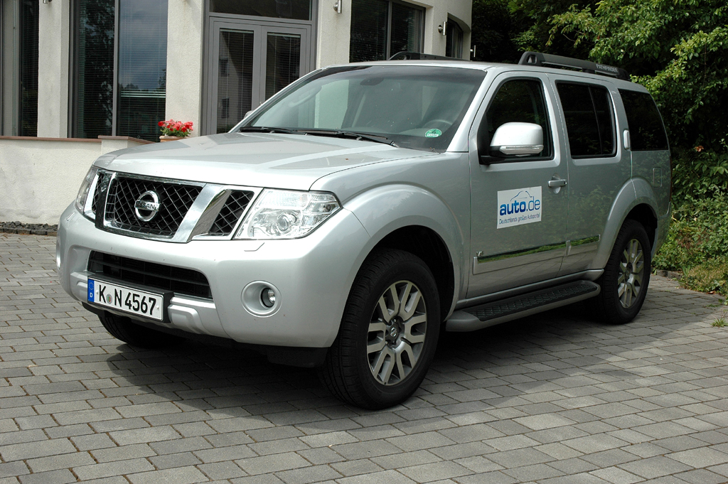 Nissan Pathfinder, hier als 231-PS-Sechszylinder-Turbodiesel.