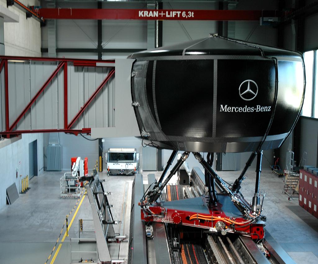 Noch intensiver: Neue B-Klasse von Mercedes im (Fahrsimulator-)Test