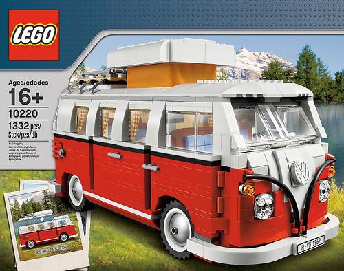 Nun kommt auch der VW Bulli aus Lego