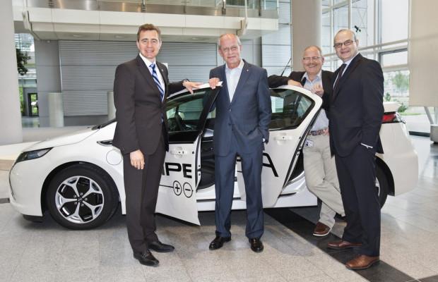 Opel Ampera bewegt IG-Metall-Chef