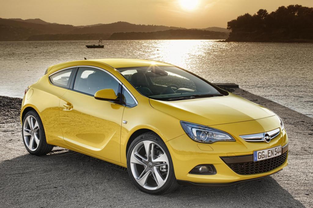 Opel tritt mit dem Astra GTC gegen den VW Scirocco an