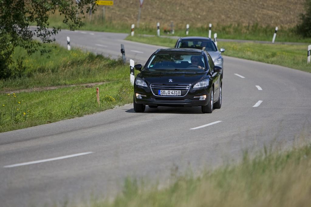 Peugeot 508.