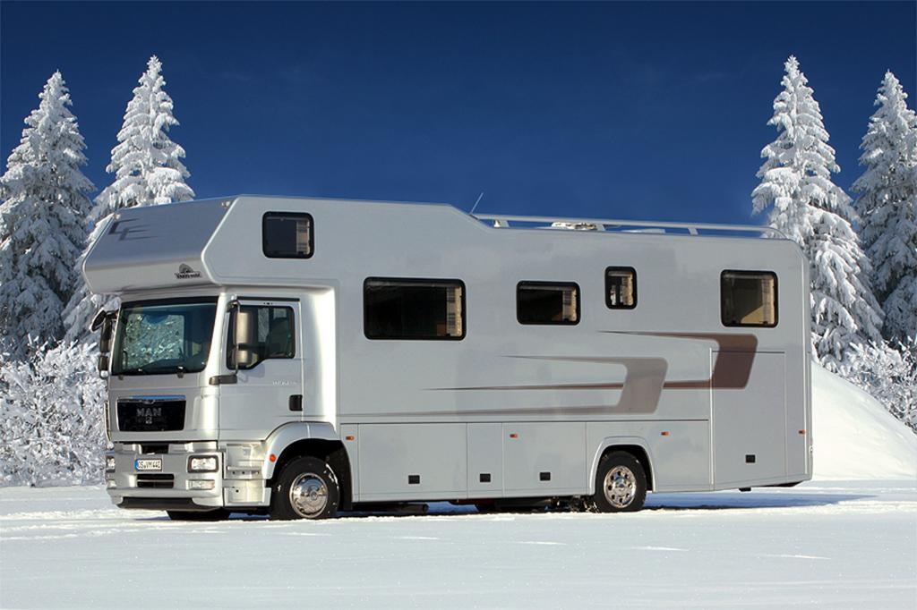 Reisemobil Vario Alkoven 950 - Luxus-Urlaub