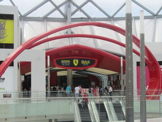 Reisetipp: Ferrari World in Abu Dhabi