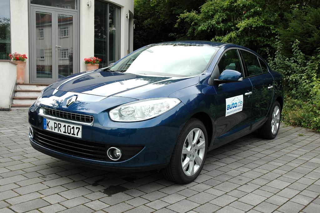 Renault Fluence, hier als Basisbenziner mit 110 PS.
