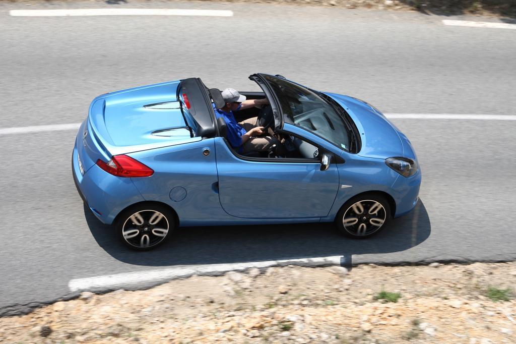 Renault Wind: per Knopfdruck zum Frischluftvergnügen