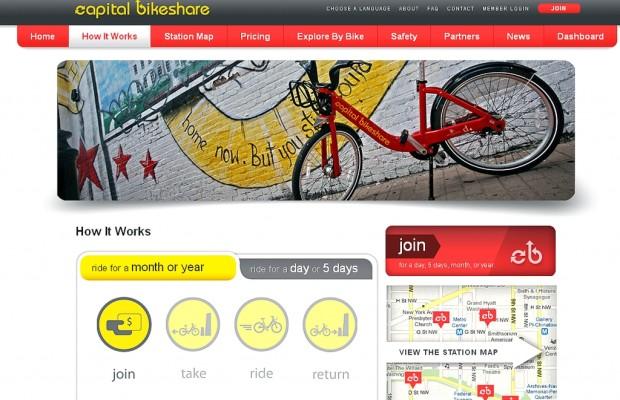 Rent-a-bike: Wie die Amerikaner aufs Fahrrad kommen