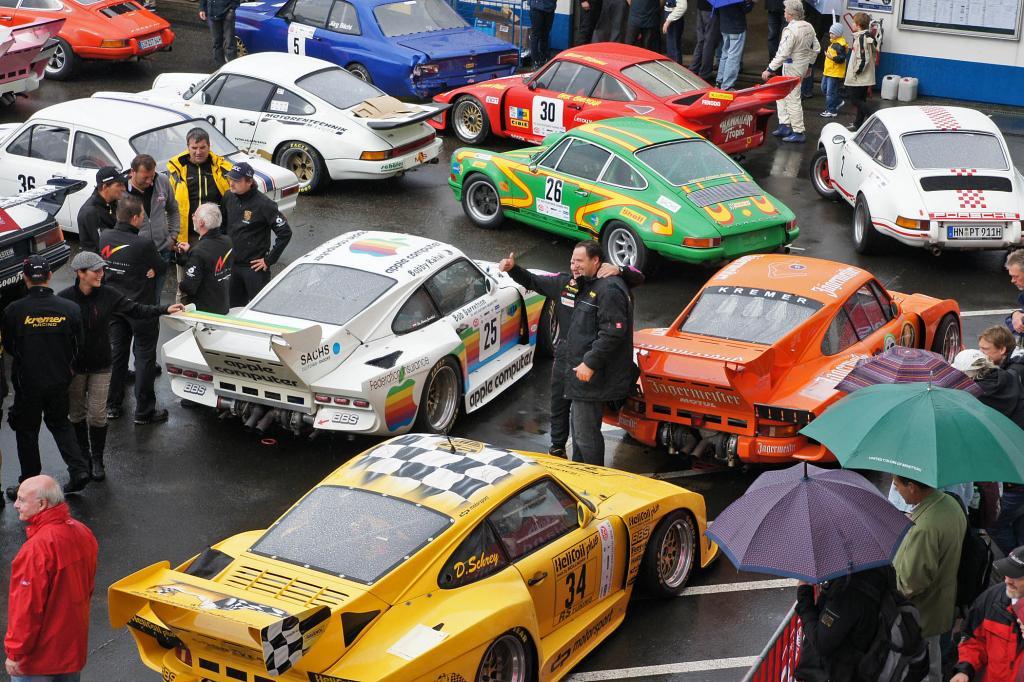 Revival feierte in diesem Jahr die Deutsche Rennsportmeisterschaft
