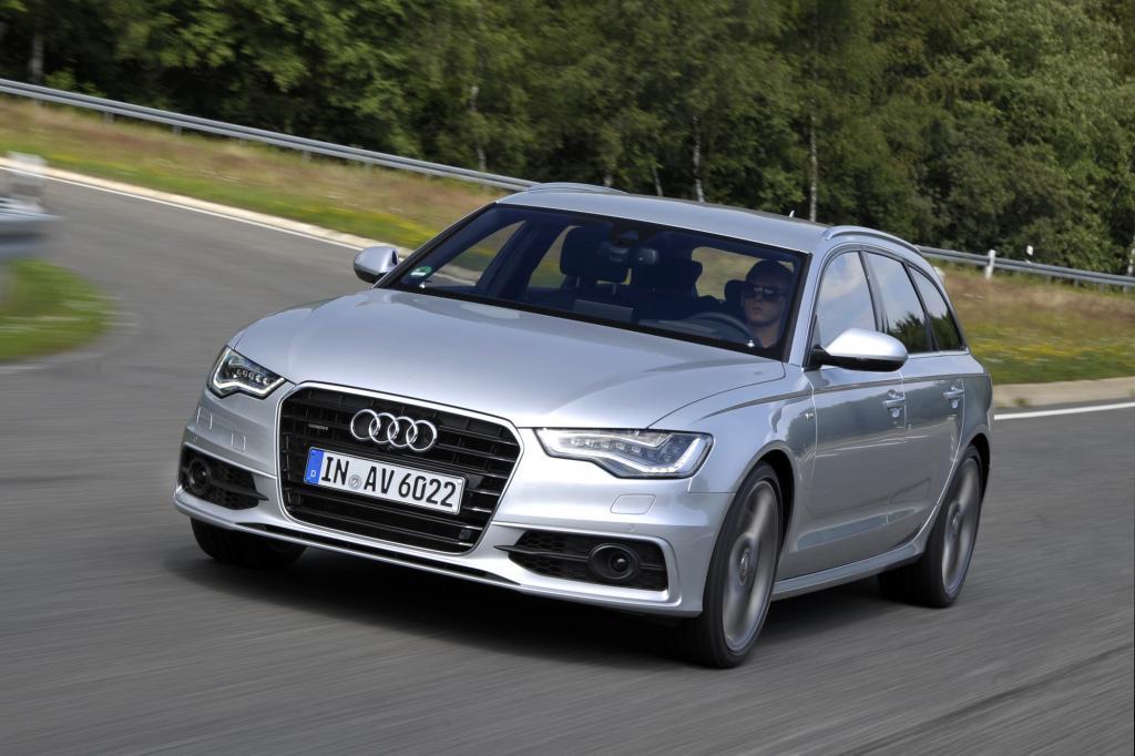 Schöne Kombis heißen Avant: Gilt auch für den neuen Audi A6 Kombi