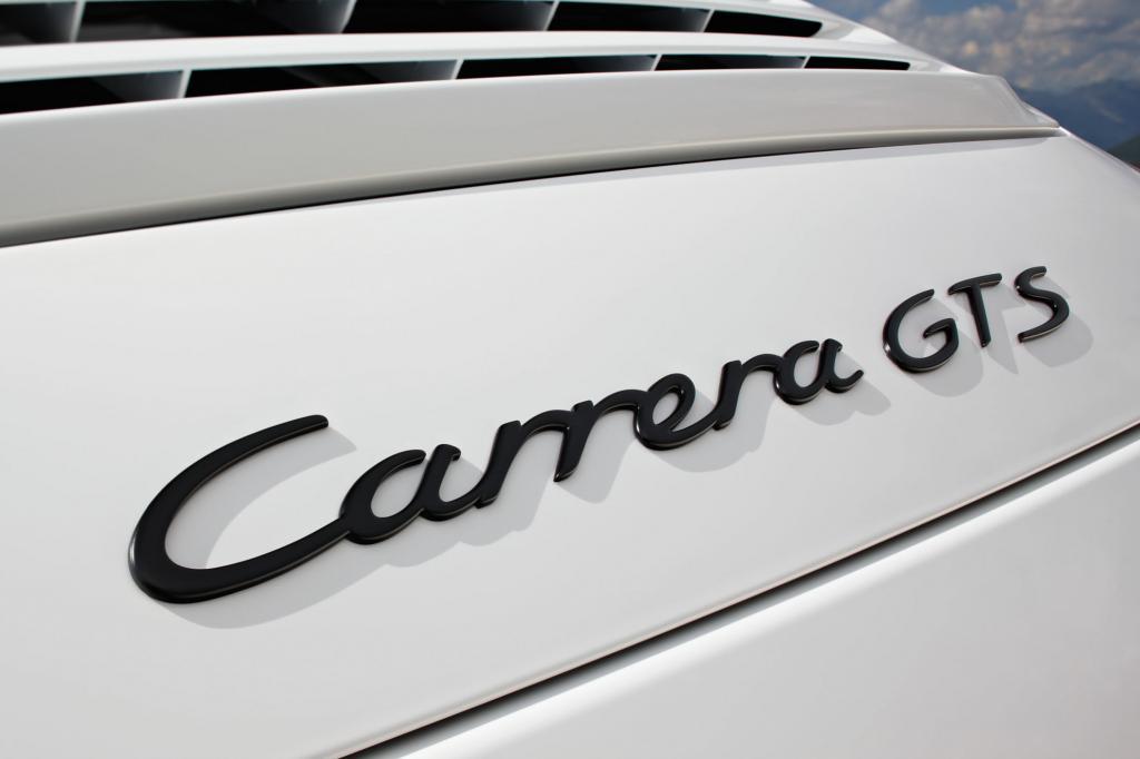 Seine Sonderstellung drückt der GTS mit dem Schriftzug auf der Motorhaube aus