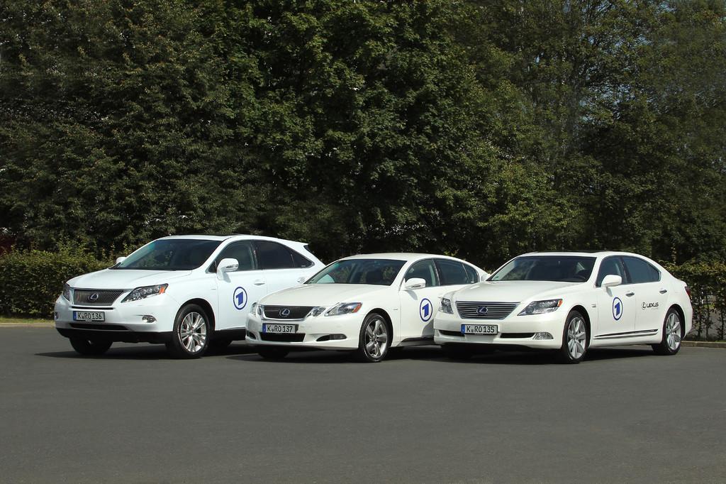 Shuttle-Flotte von Lexus für die IFA.