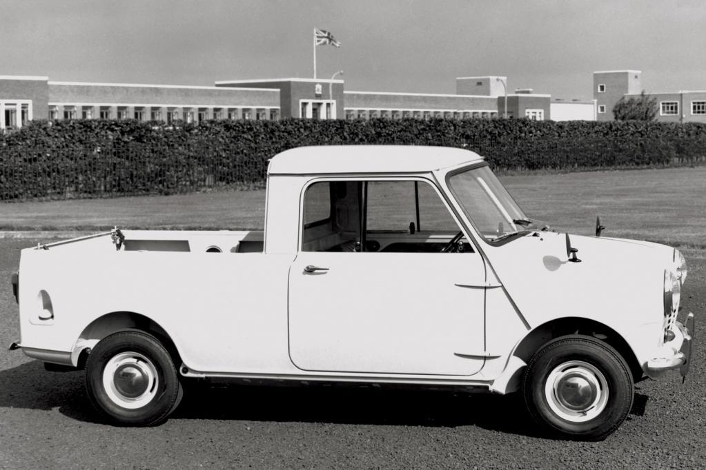 So klein und doch so groß: Der Mini als Pick-up - das hat der aktuellen Auto-Familie gerade noch gefehlt.