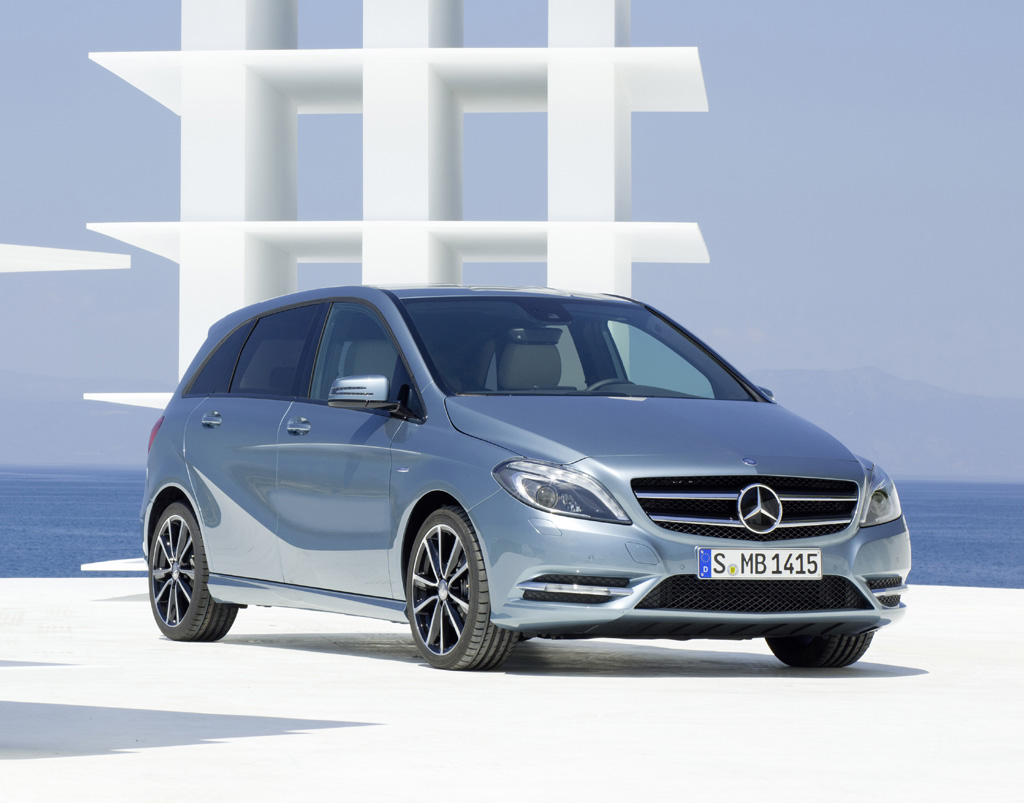 So sieht die Neuauflage der B-Klasse von Mercedes aus.
