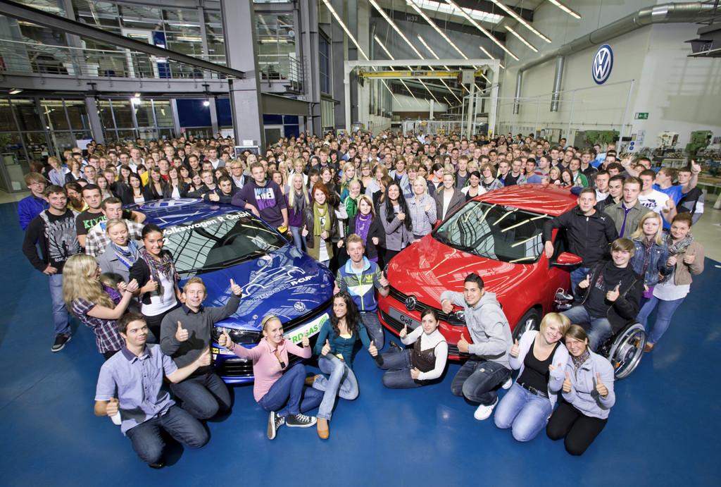 So viele neue Auszubildende bei Volkswagen wie noch nie