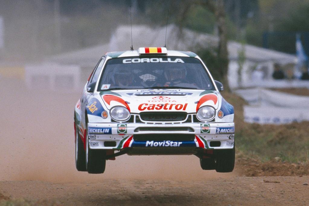 Sportlicher ist der Toyota Corolla WRC unterwegs gewesen.