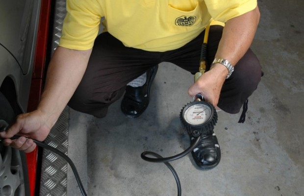 Stickstoff statt Luft im Reifen