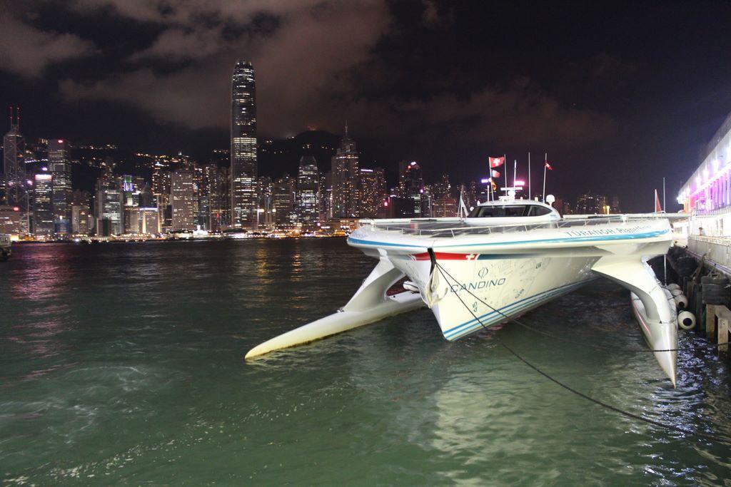 TÛRANOR PLANETSOLAR: Mit Solarenergie von Hong-Kong nach Singapur