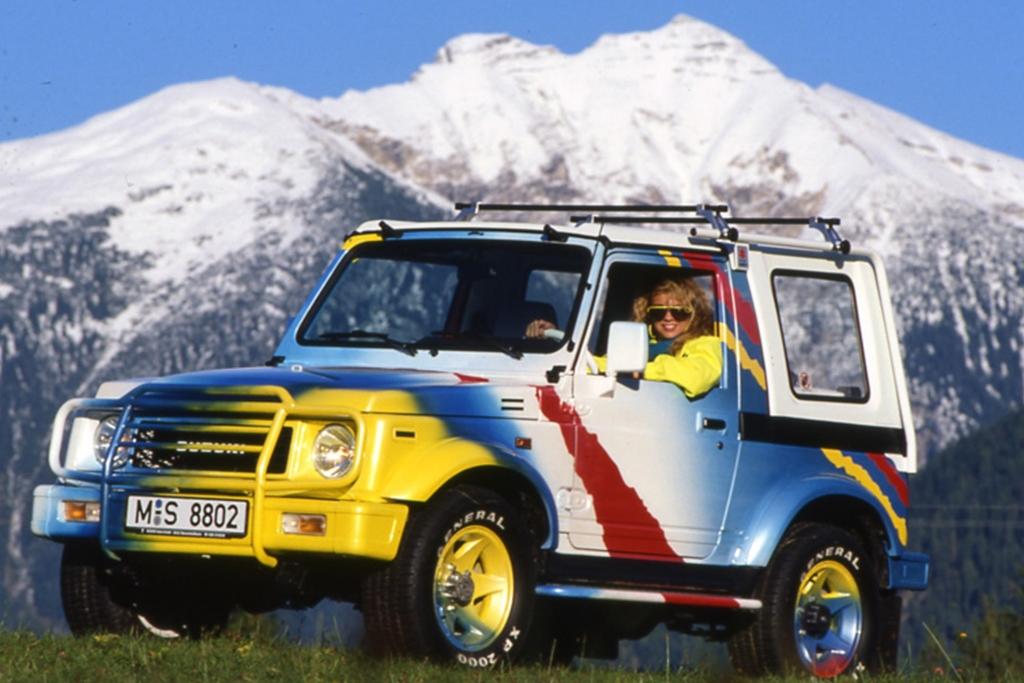 Tradition: 30 Jahre Suzuki SJ und Samurai - Wilde Wühlmäuse