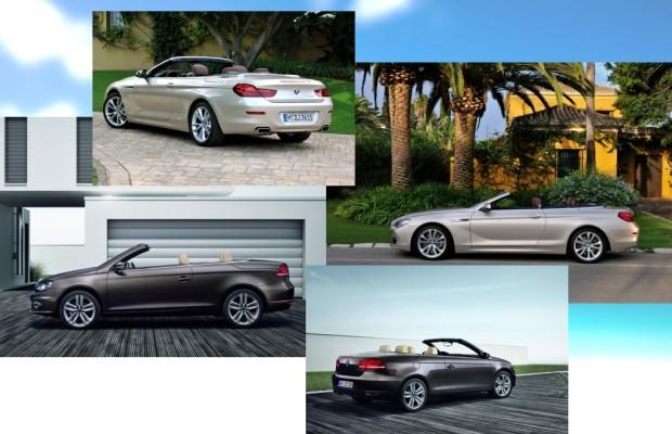 Ungleiches Cabrio-Duell: BMW 650i gegen VW Eos
