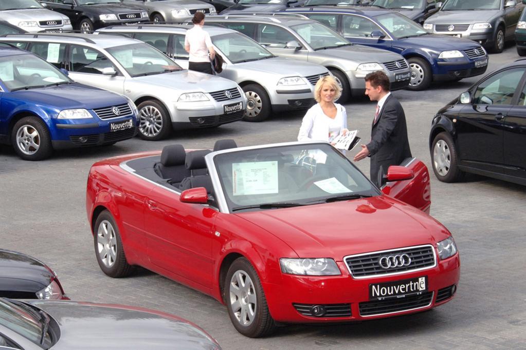 Versicherungseinstufung beeinflusst Neuwagenkauf