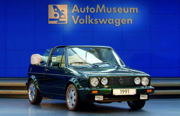 Volkswagen-Museum feiert den Siegeszug des Golf-Cabrios