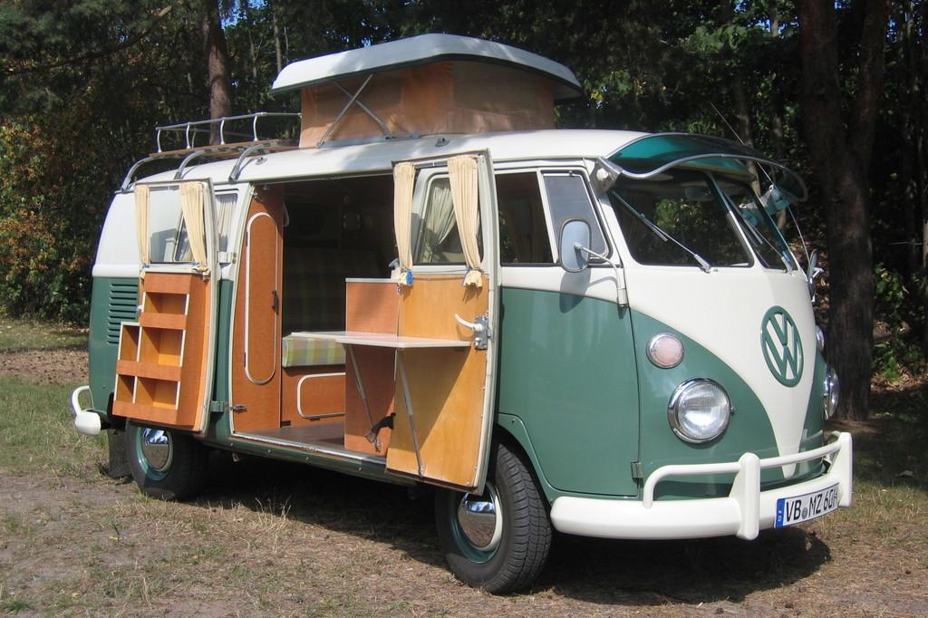 Volkswagen T1 Campingbus von Westfalia.
