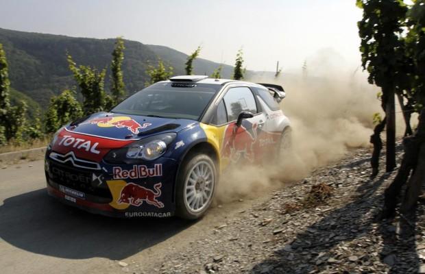 WRC Deutschland Rallye in Trier - Weltmeisterliche Abstimmungsfahrt
