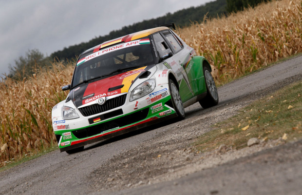 Škoda-Teams starten bei der Lausitz Rallye