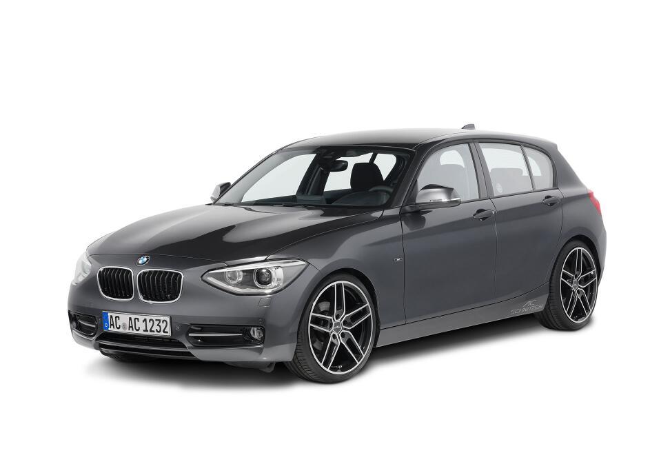 AC Schnitzer mit Leichtmetallfelgen und Accessoires für BMW 1er