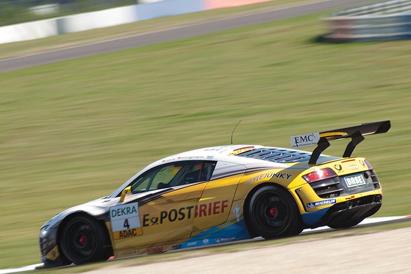 ADAC GT Masters: Jäger/Stoll gewinnen auf dem EuroSpeedway Lausitz