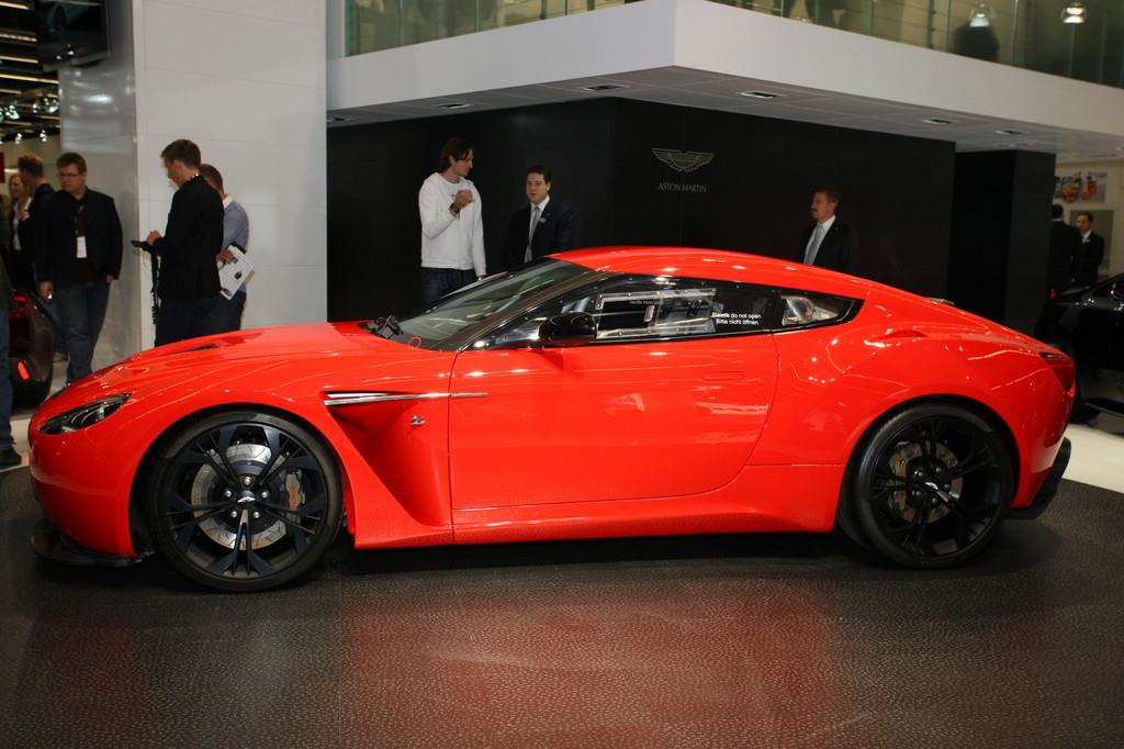 Aston Martin V12 Zagato.