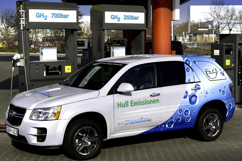 Auch Opel setzt auf das Wasserstoff-Mobil.