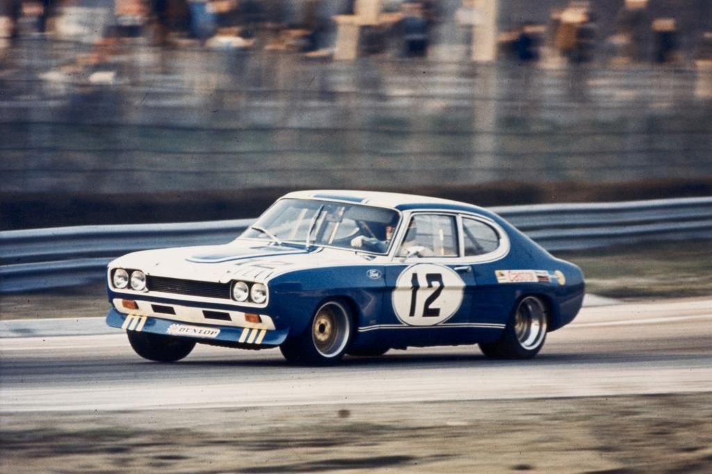 Auch auf der Rennstrecken lief es gut für den Ford Capri
