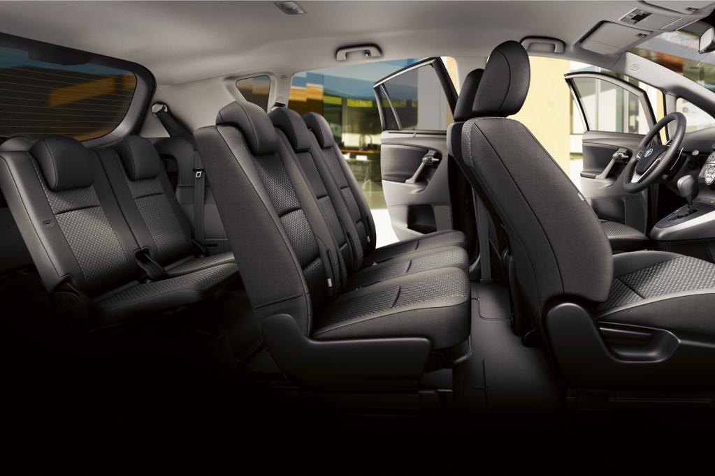 Auch der Toyota Verso kann sieben Menschen befördern. Der Spaß kostet 700 Euro extra.