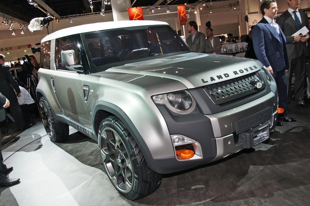 Auch die Land Rover Studie gefällt uns