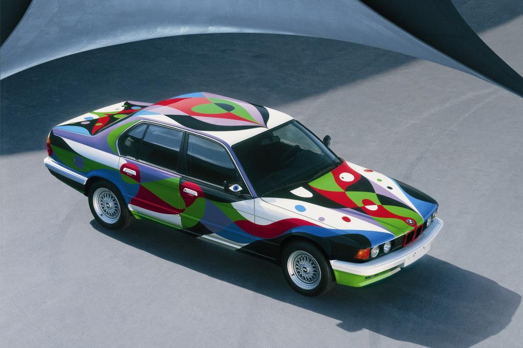Auch vom 7er ließ BMW ein Art Car kreieren