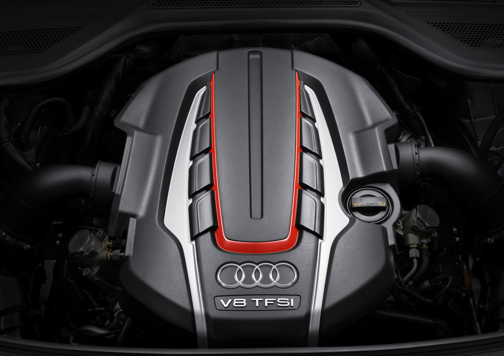 Audi 4.0 TFSI.