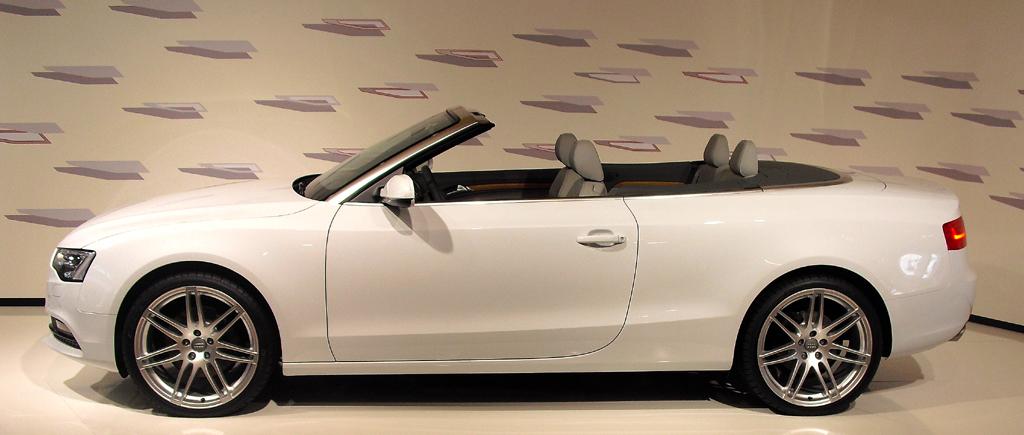 Audi A5, hier als Cabrio.