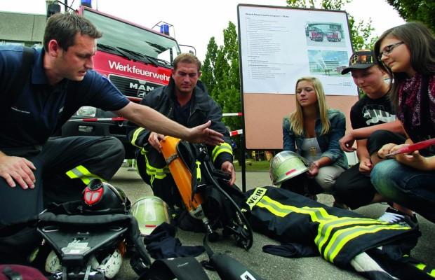 Audi-Feuerwehr sucht Nachwuchs