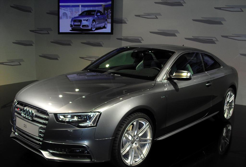 Audi S5, hier als Coupé.