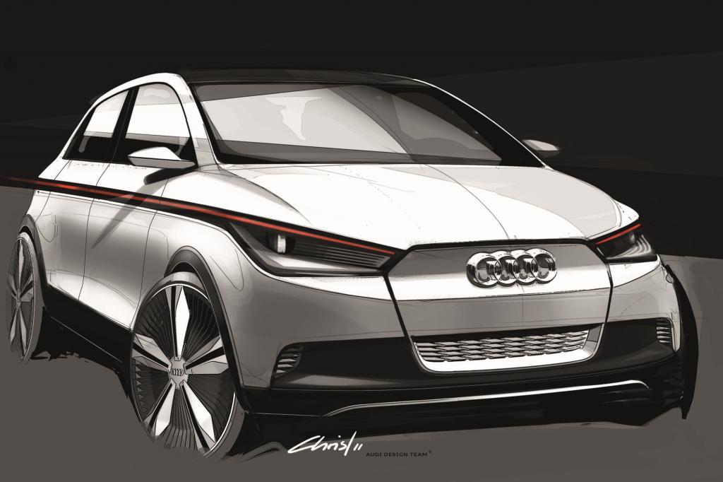 Audi bringt mit dem A2 Concept einen Ausblick auf den kommenden A2