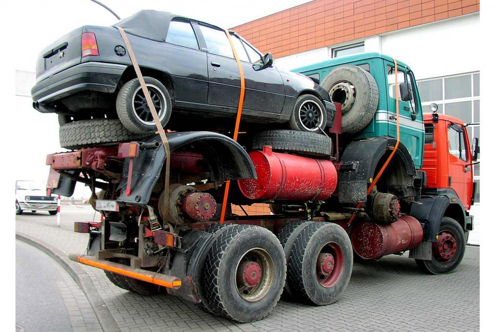 Autoüberführung - Komplizierte Auslandregel