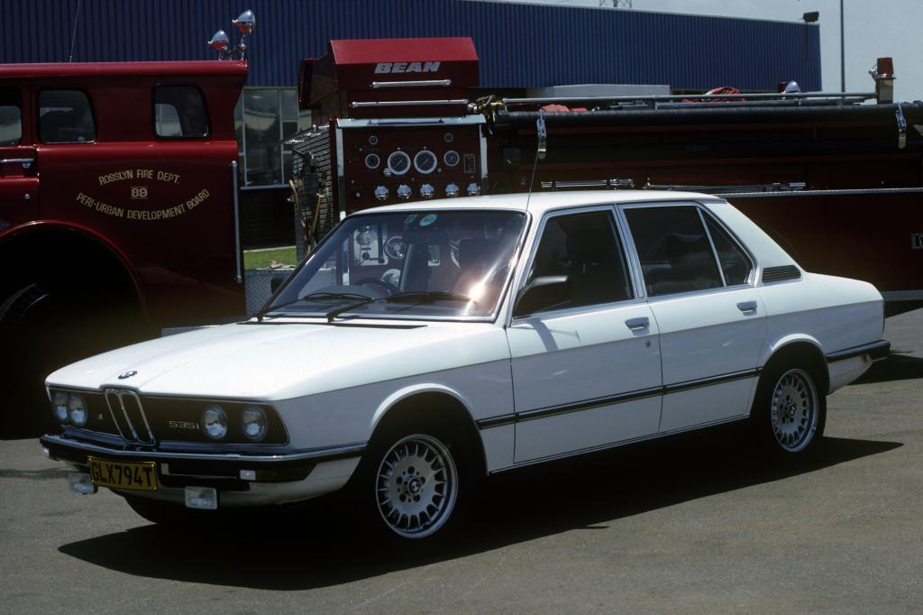 BMW M5-Historie - Sportwagen im Limousinenkleid