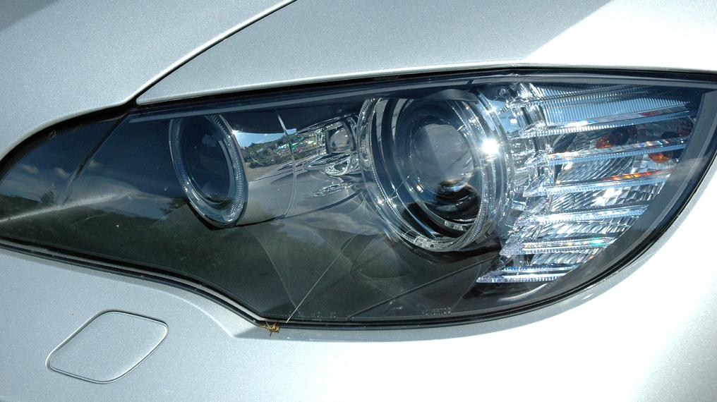 BMW X6 xDrive 30d: Modernes Xenon-Leuchteinheit vorn.