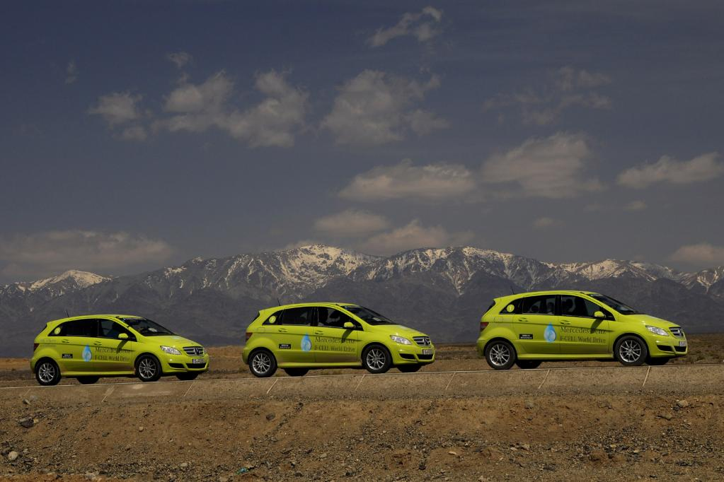 Brennstoffzellentechnologie im Auto auf dem Vormarsch