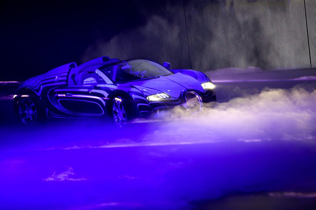Bugatti L'Or Blanc bei der VW-Vorabendversanstaltung