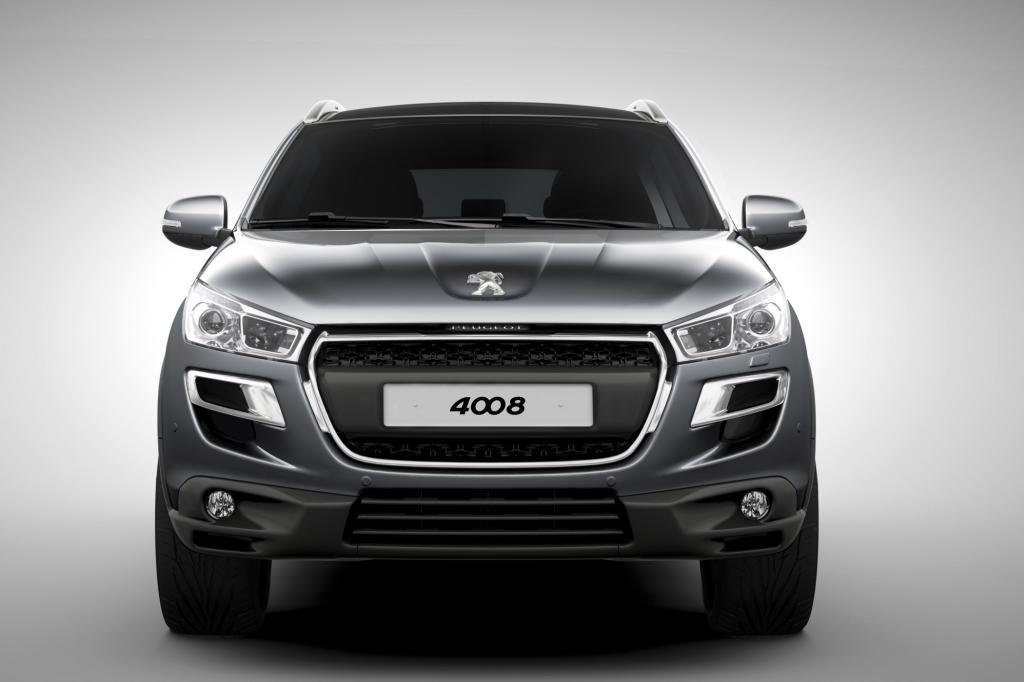 Bullige Front: Der Peugeot 4008 setzt auf den starken Auftritt