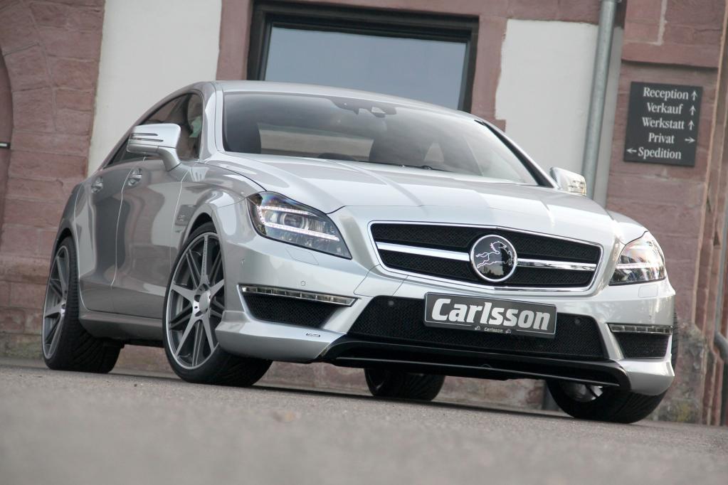 Carlsson bringt den Mercedes CLS auf 649 PS