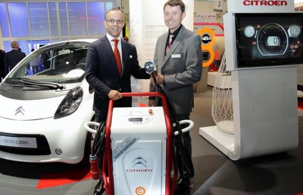 Citroen präsentiert Schnellladestation auf Rädern